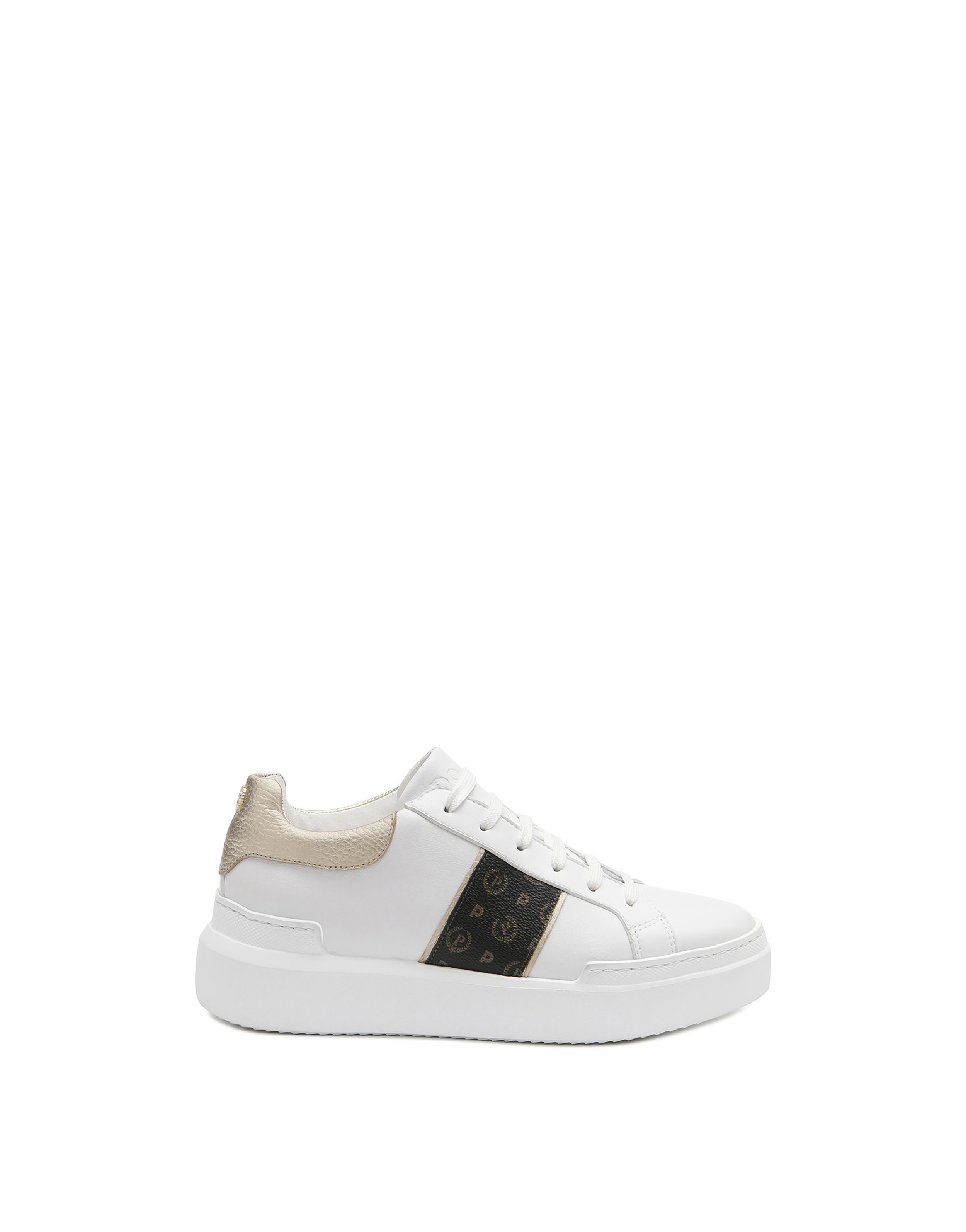 Sneakers Blackplatinumwhite Woman FW19 Pollini Online Boutique