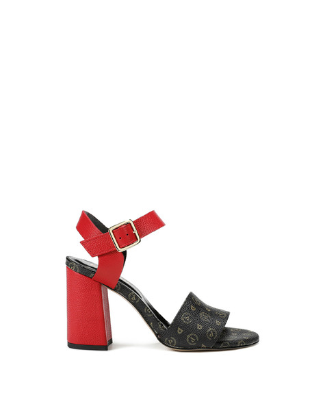 Sandals Black/laky red