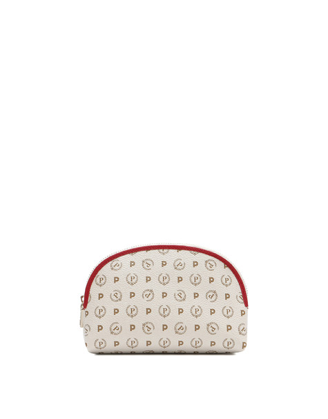 Trousse Ivory/laky red
