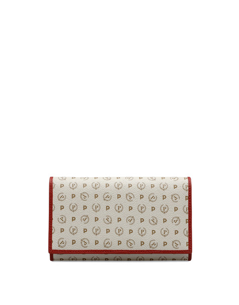 Wallets Ivory/laky red