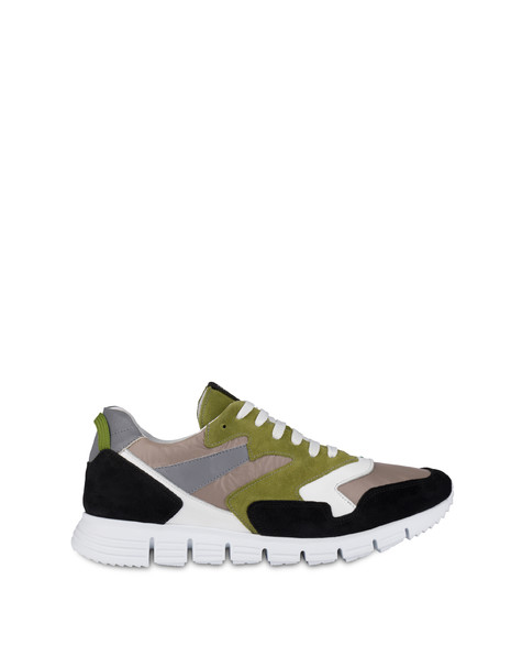 Sneakers Taupe/black/sage/white/silver