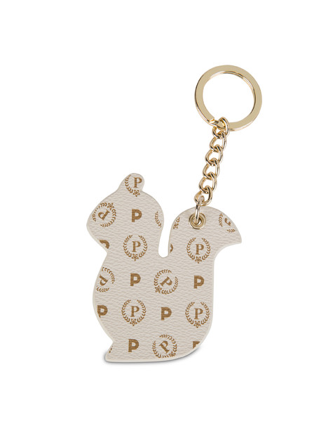Keyrings Ivory/brown