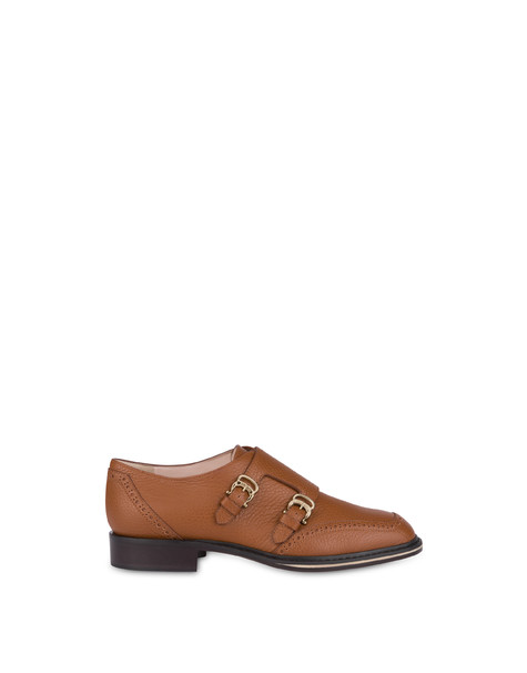Monk strap Leather brown