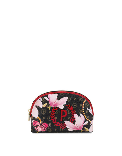 Heritage Secret garden pouch Black/red