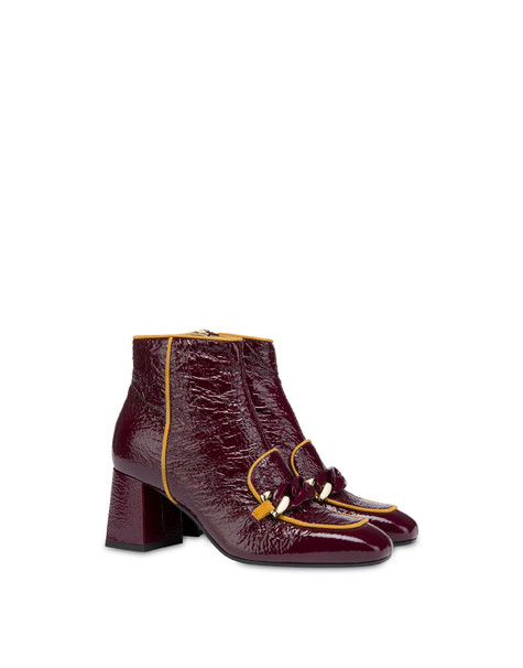 Naplak ankle boots with chain Brunello/ochre