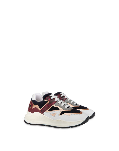 New Kite suede and leather sneakers Ocean/brunello/white/fog/must