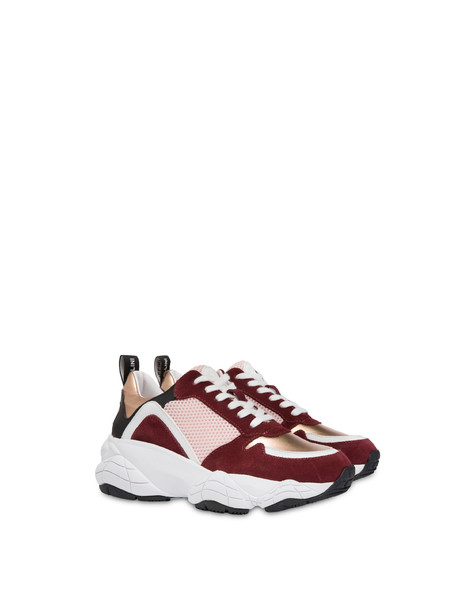 Duo Athletic Sneakers Old rose/brunello/dawn/white/black