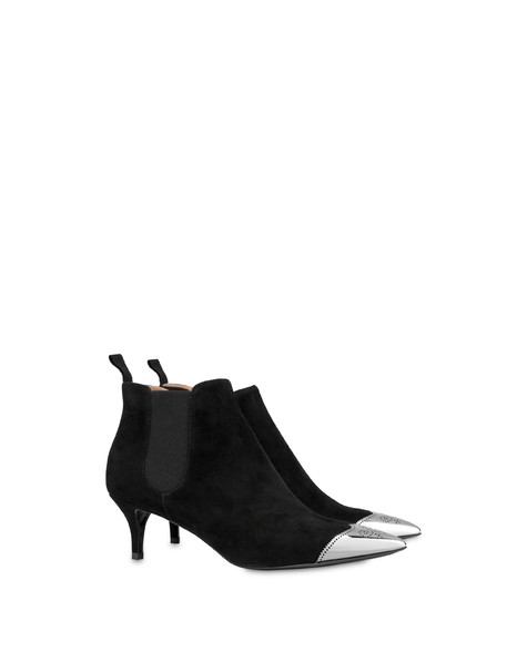 Swallow From West suede ankle boots Black