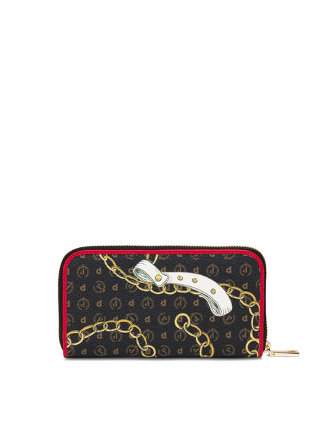 Heritage Preppy Club zip around wallet